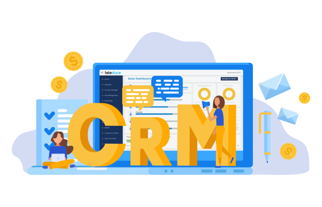 Lead Generation Integrated with CRM